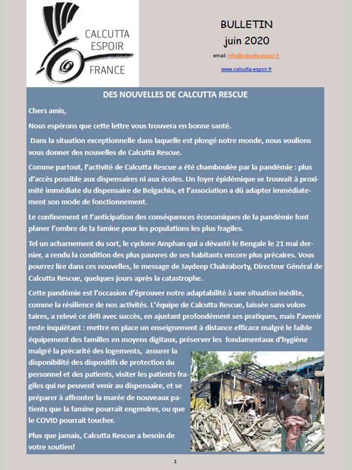 Bulletin Juin 2020 page 1